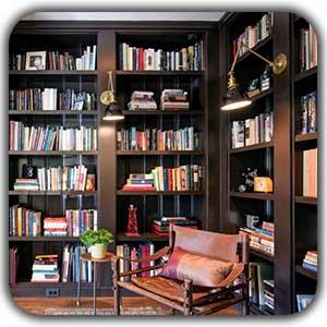 کتابخانه خانگی