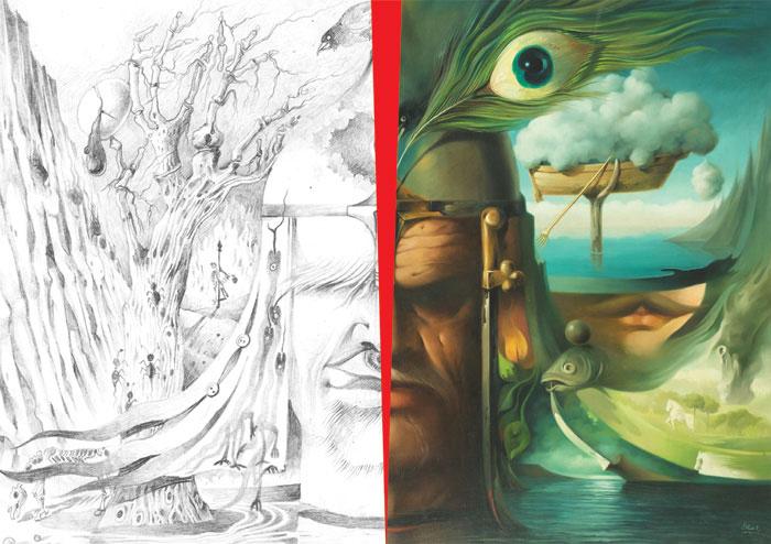 hoor art galleryi aliakbarsadeghi namayeshgah azar gallery 1 - گالری های هنری آذر ماه 98