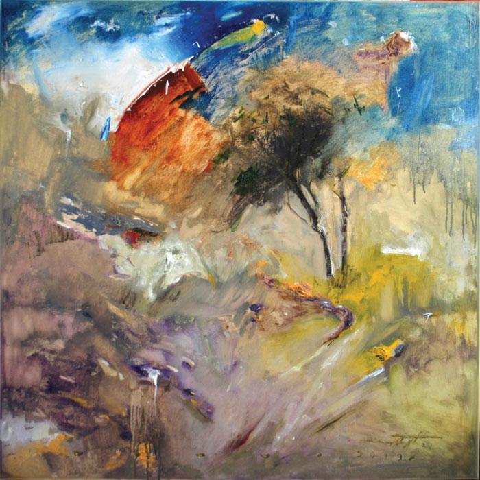ide galleryi ebrahim akbari namayeshgah azar gallery 1 - گالری های هنری آذر ماه 98