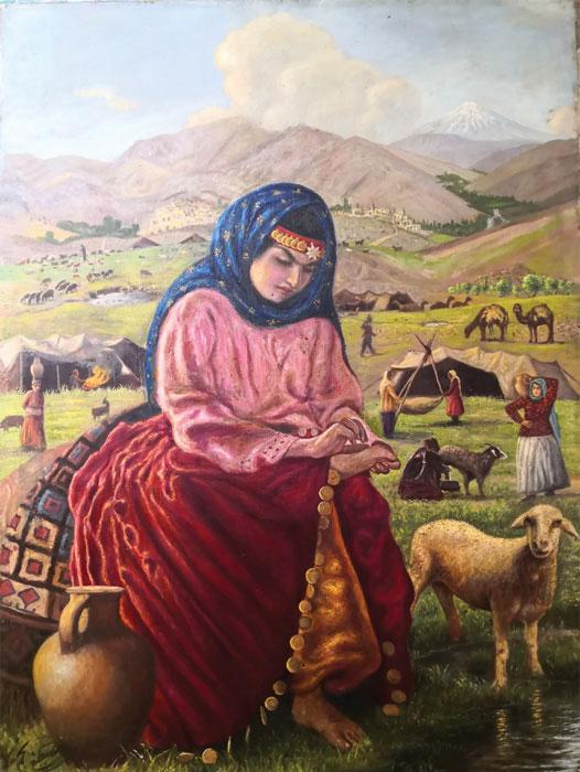 kamalolmolk namayeshgah azar gallery 1 - گالری های هنری آذر ماه 98