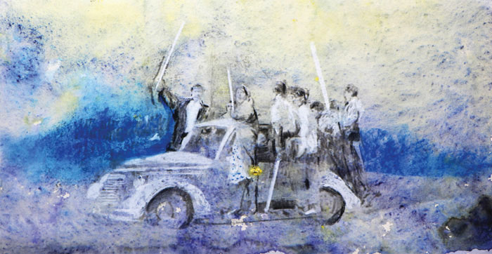 mah art galleryi sudabedavud namayeshgah azar gallery 1 - گالری های هنری آذر ماه 98