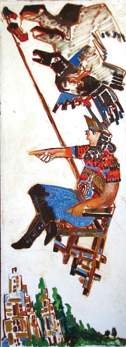sharooh galleryi arabali sharuh namayeshgah azar gallery 1 - گالری های هنری آذر ماه 98
