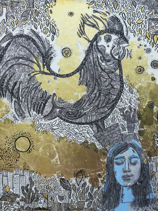 shelman galleryi atefe heydari namayeshgah azar gallery 1 - گالری های هنری آذر ماه 98
