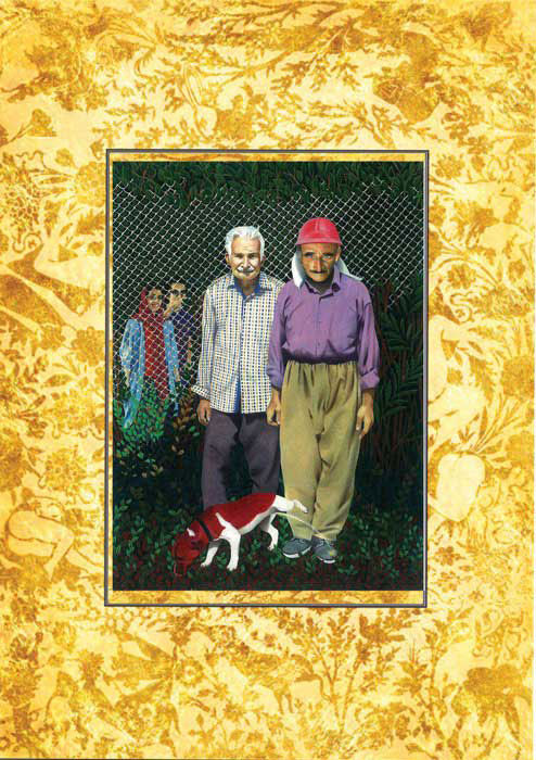tarahan azad galleryi abbas shahsavar namayeshgah azar gallery 1 - گالری های هنری آذر ماه 98