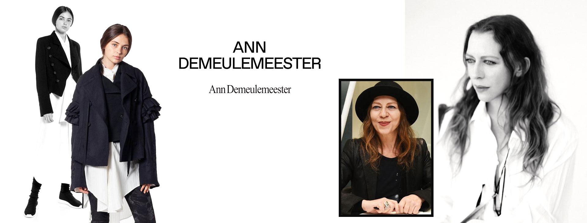 Ann Demeulemeester2 - زنان پیشگام در صنعت مد