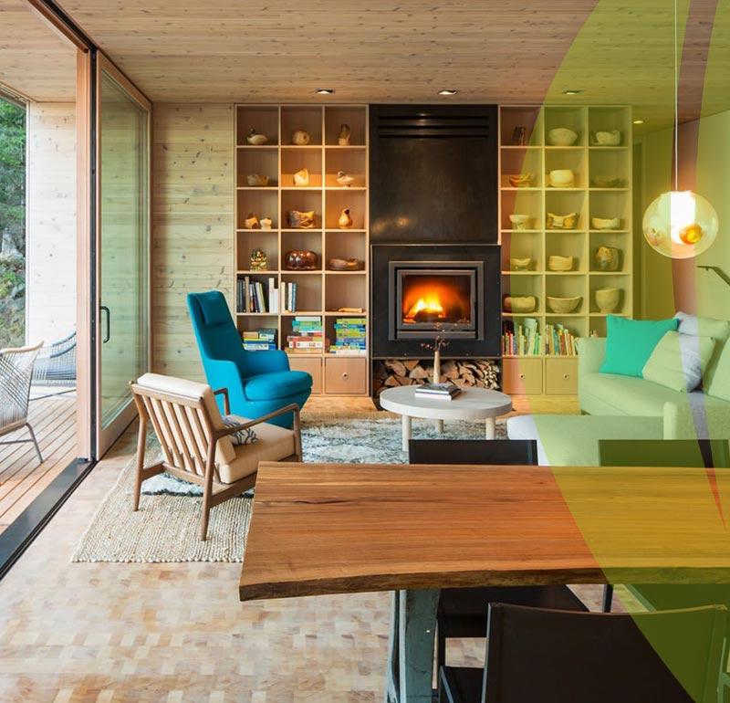 Environmentally Friendly interior design - طراحی داخلی سازگار با محیط زیست