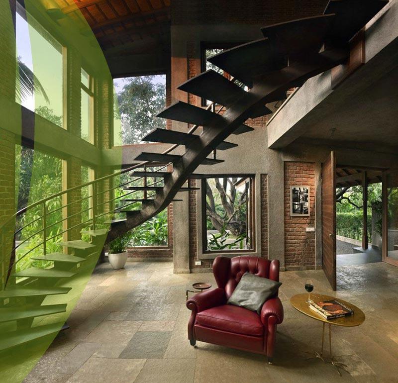 Environmentally Friendly interior design 4 - طراحی داخلی سازگار با محیط زیست