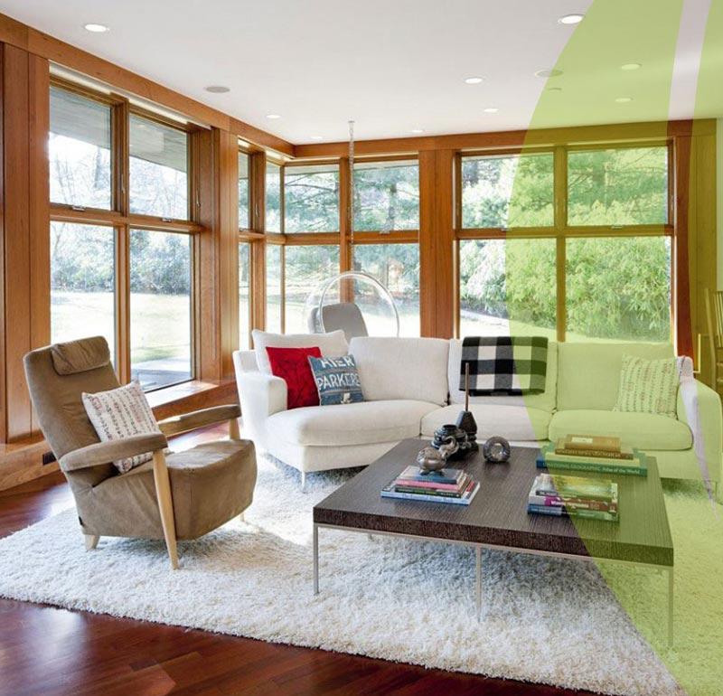 Environmentally Friendly interior design 5 - طراحی داخلی سازگار با محیط زیست