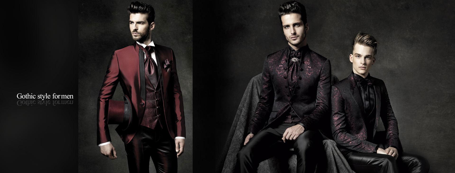 Gothic style for men 1 - استایل گوتیک مردانه