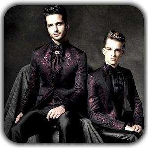 Gothic style for men 111 - معرق چرم