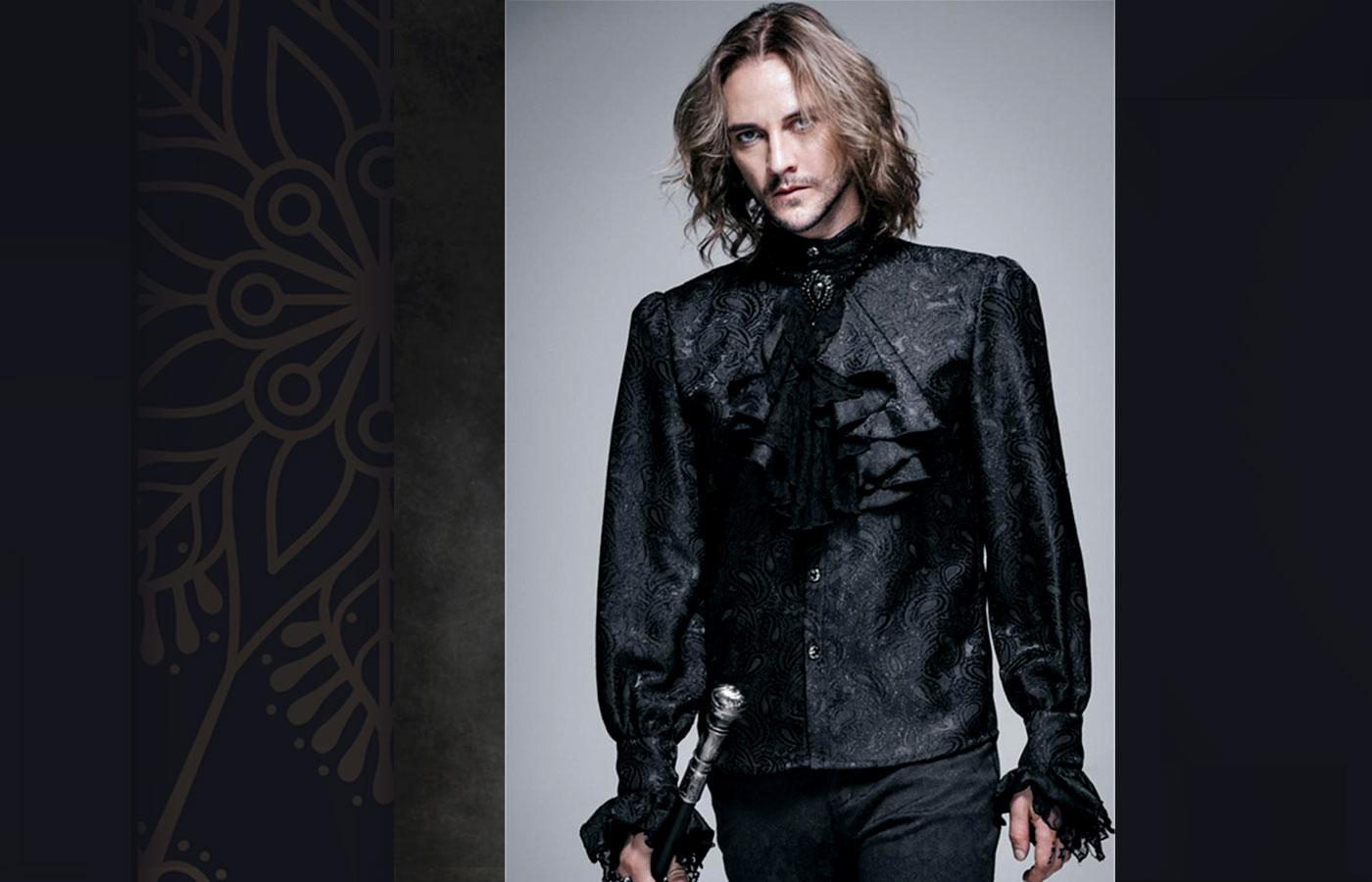 Gothic style for men 28 - استایل گوتیک مردانه