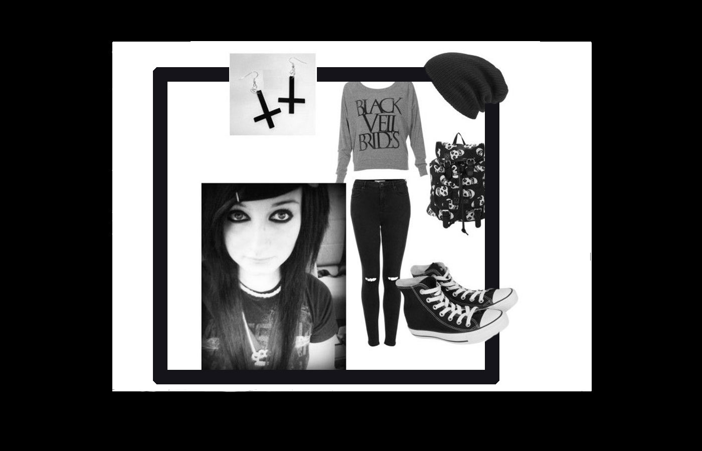 Punk Fashion Style 220 - استایل پانک زنانه