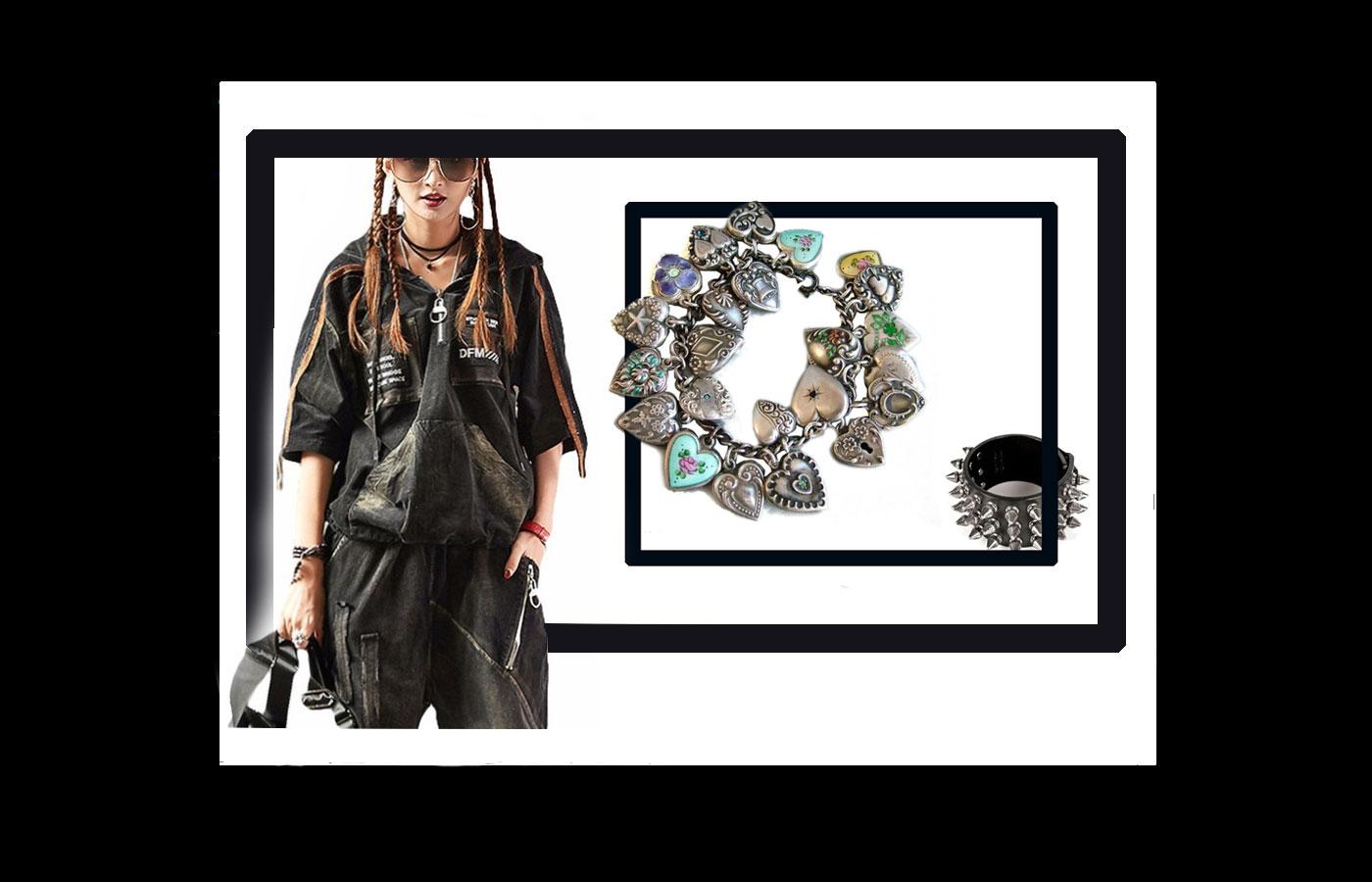 Punk Fashion Style 56 - استایل پانک زنانه