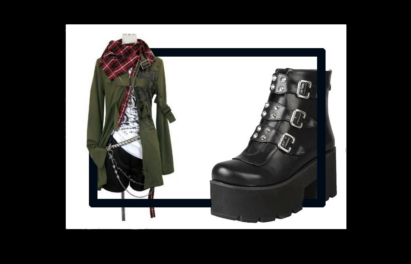 Punk Fashion Style 7 - استایل پانک زنانه