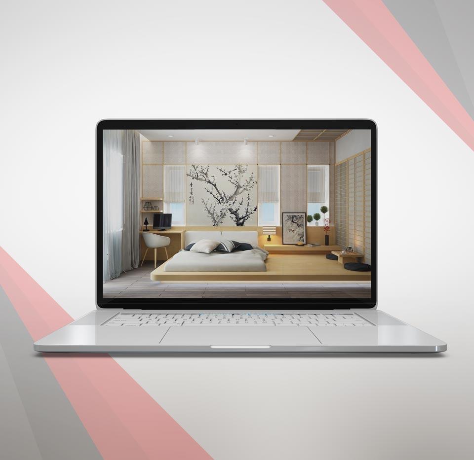 bedroom design 1 - طراحی اتاق خواب