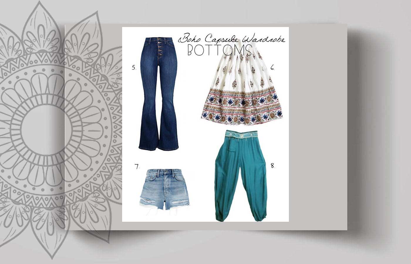 bohemian women style 13 - استایل بوهو زنانه