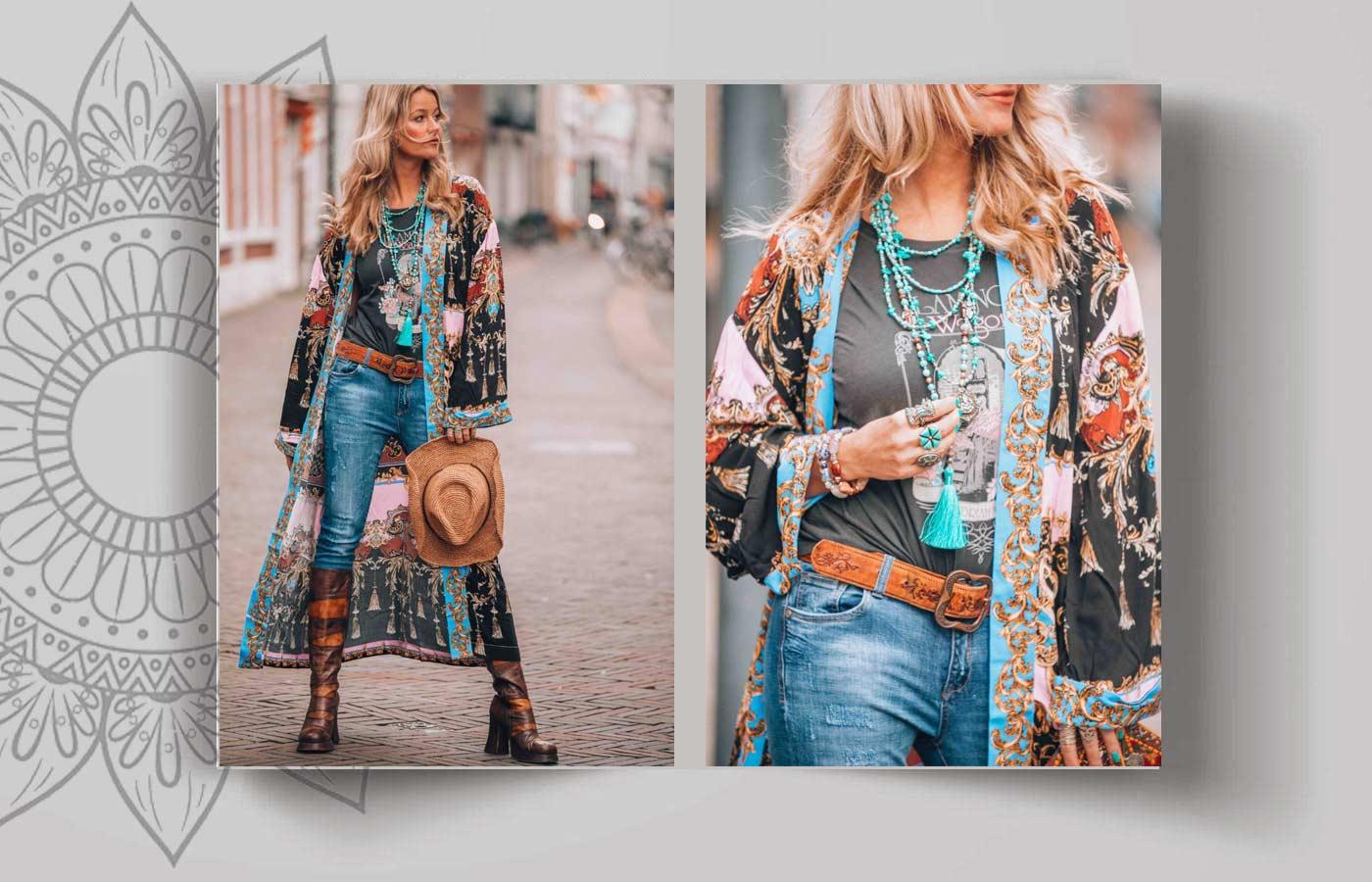 bohemian women style 88 - استایل بوهو زنانه