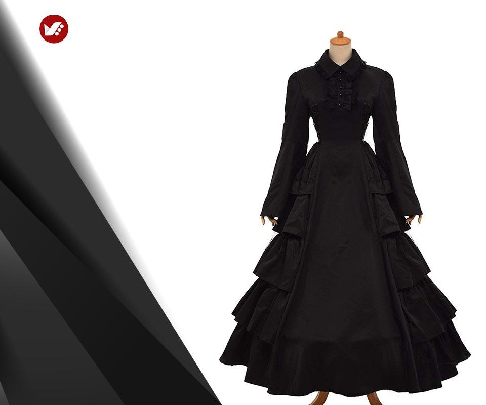gothic style 6 - استایل گوتیک زنانه