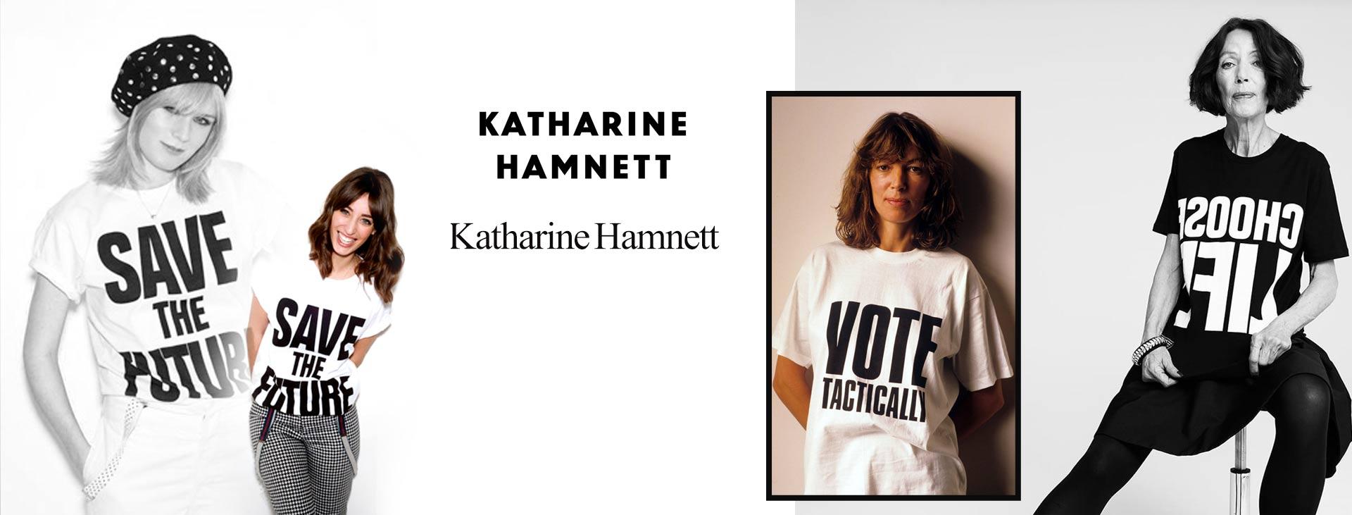 katharine hamnett 2 - زنان پیشگام در صنعت مد