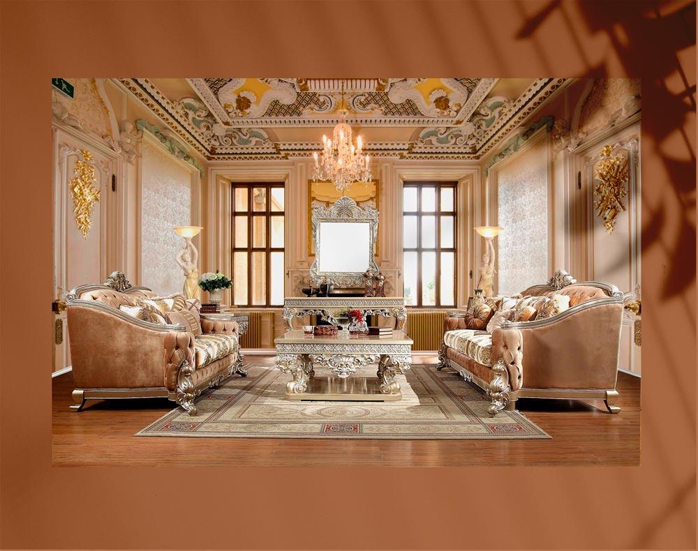 luxury living room 10 - اتاق نشیمن لوکس