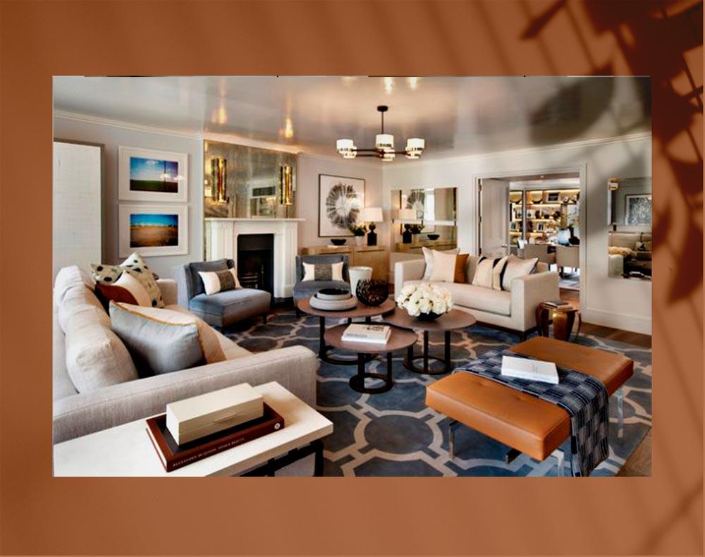 luxury living room 13jpg - اتاق نشیمن لوکس