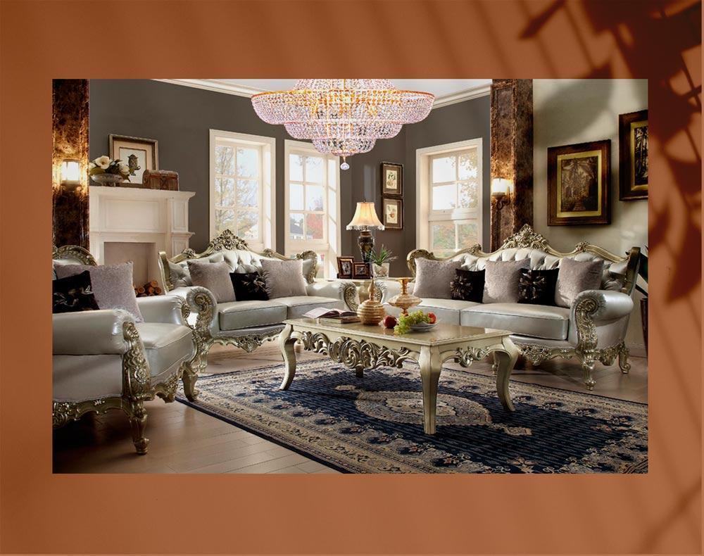 luxury living room 17jpg - اتاق نشیمن لوکس