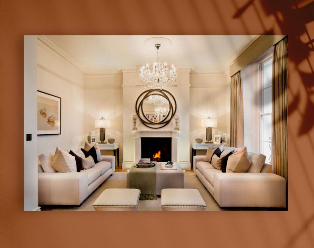 luxury living room 2 - اتاق نشیمن لوکس