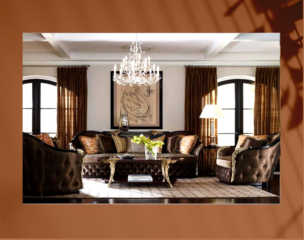 luxury living room 277pg - اتاق نشیمن لوکس