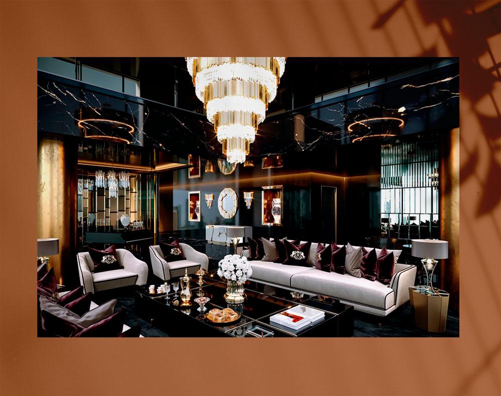 luxury living room 5 - اتاق نشیمن لوکس