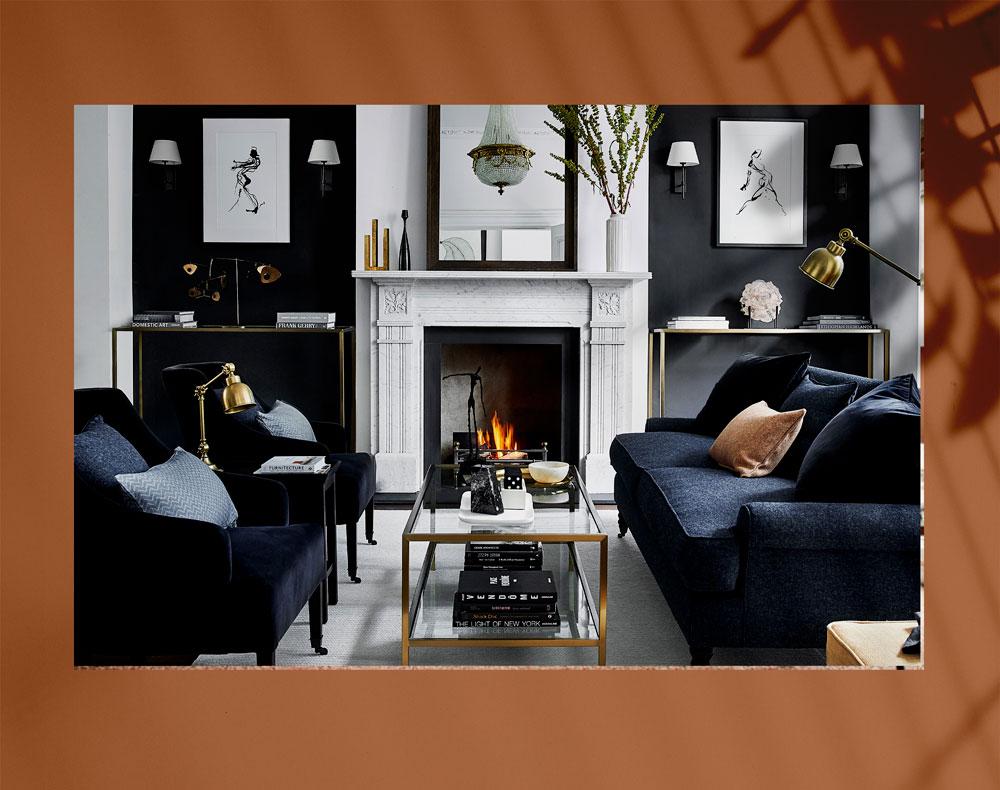 luxury living room 7 - اتاق نشیمن لوکس