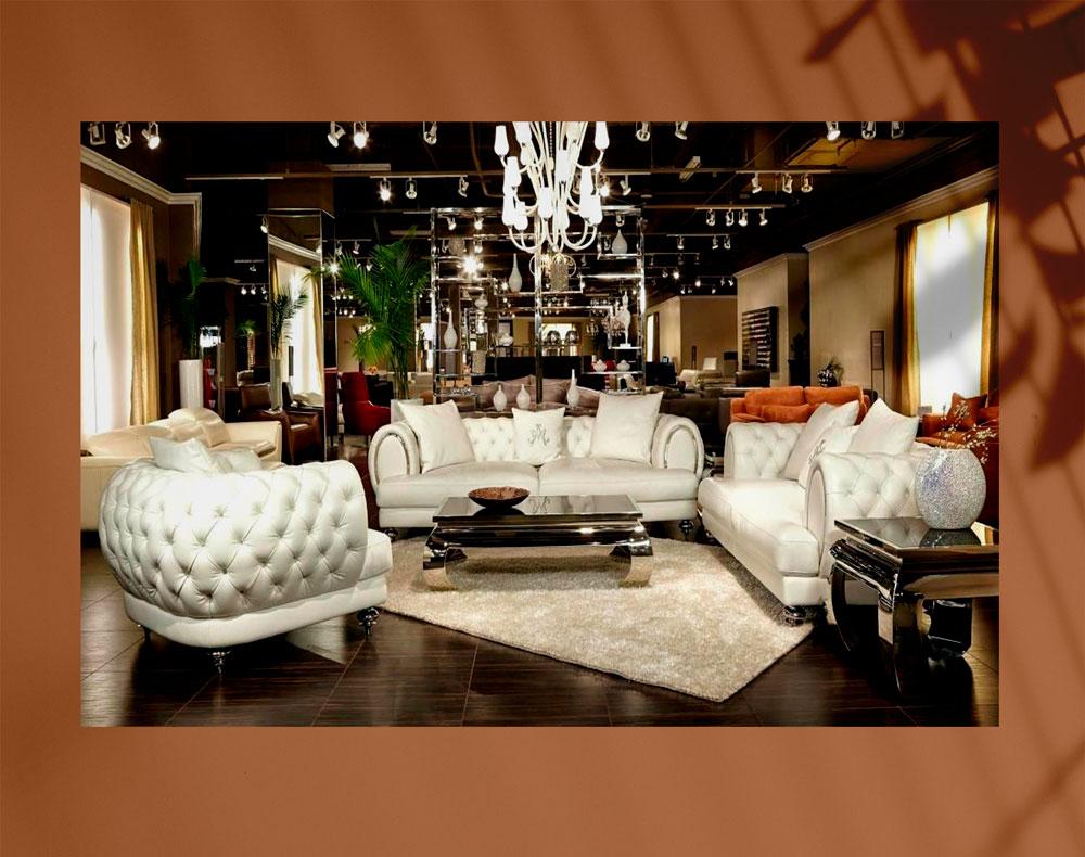 luxury living room 8 - اتاق نشیمن لوکس