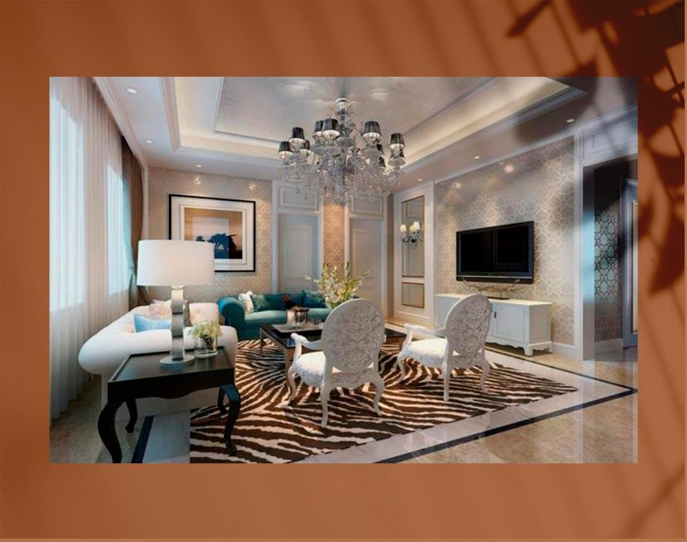 luxury living room 888 - اتاق نشیمن لوکس