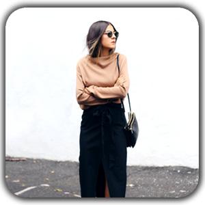 minimal style women1 - معرق چرم
