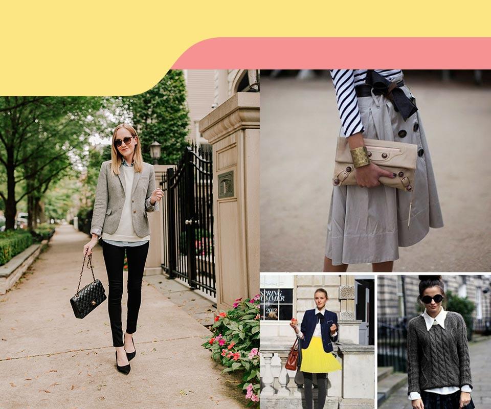 preppy women style 1 - استایل پرپی زنانه