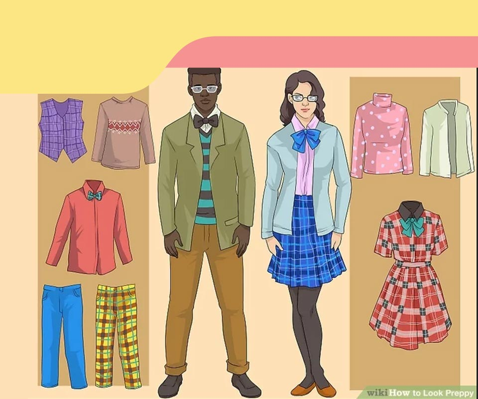 preppy women style 5 - استایل پرپی زنانه