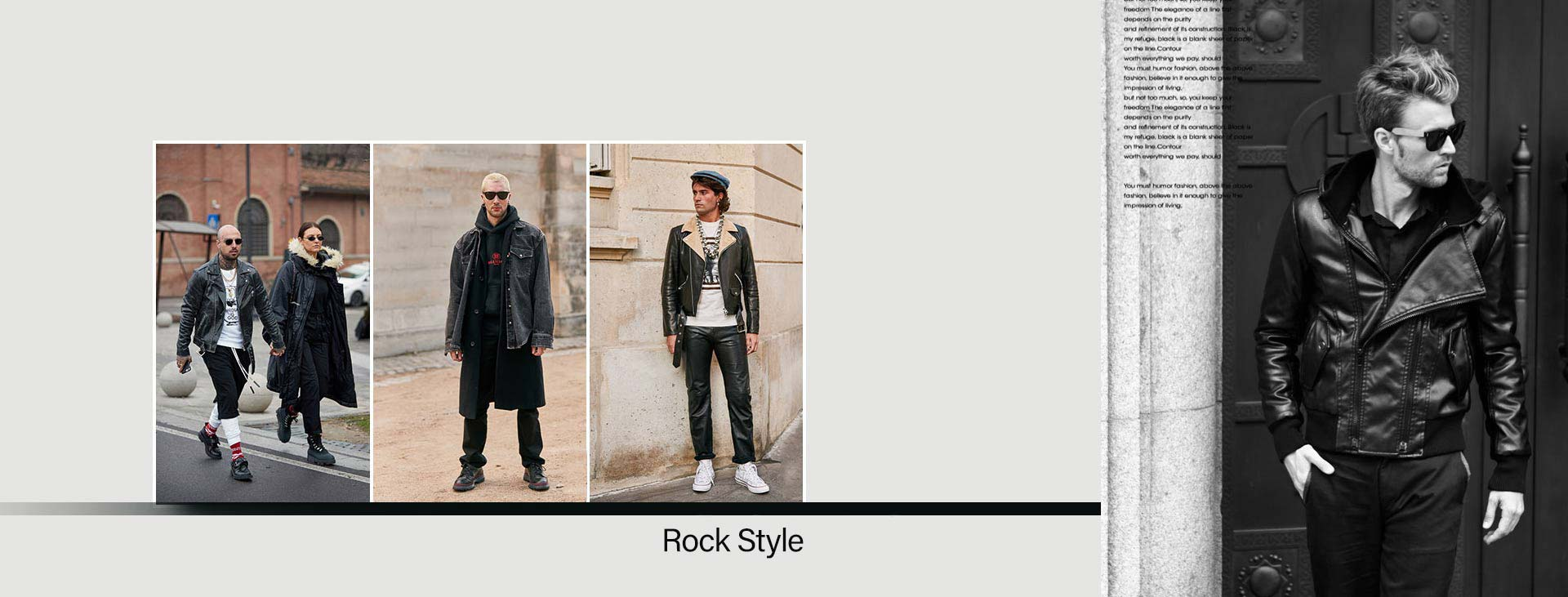 rocker 3 - استایل راک مردانه