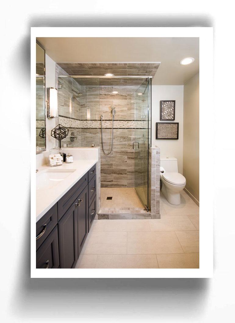 طراحی حمام های کوچک