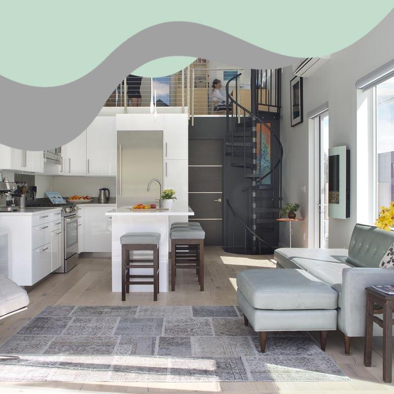 small space interior design 3 - خانه های کوچک و منازل