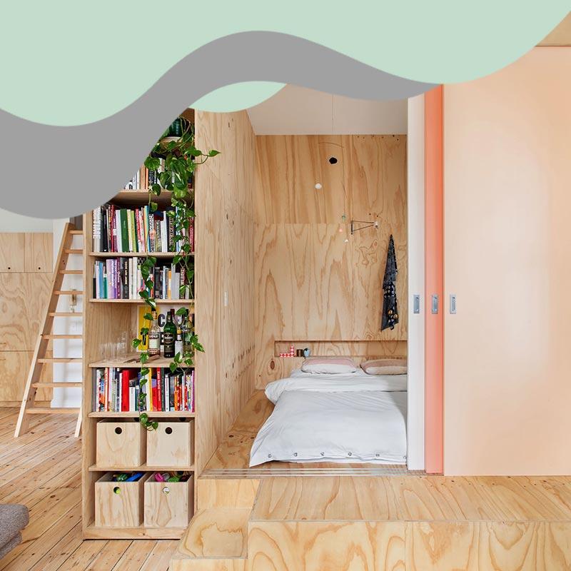 small space interior design 8 - خانه های کوچک و منازل