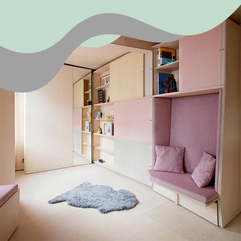 small space interior design 9 - خانه های کوچک و منازل