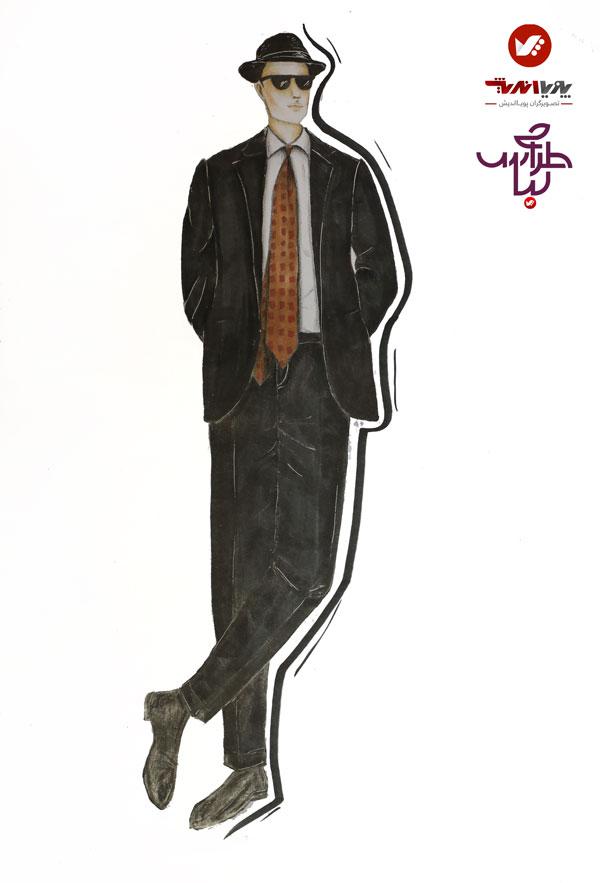 tarahilebas mardane pic amoozesh honarju 2 - آموزش طراحی لباس مردانه