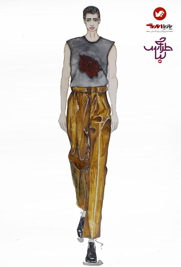 tarahilebas mardane pic amoozesh honarju 3 - آموزش طراحی لباس مردانه
