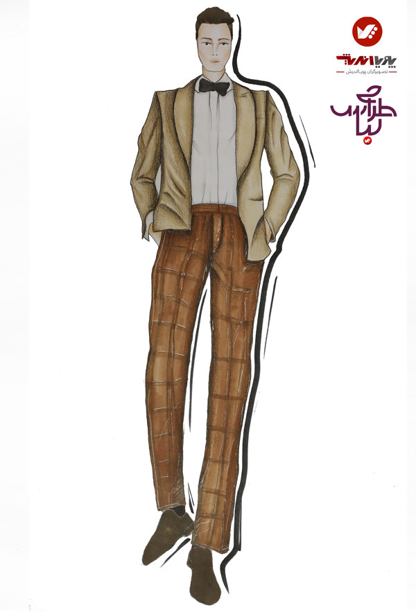 tarahilebas mardane pic amoozesh honarju 4 - آموزش طراحی لباس مردانه