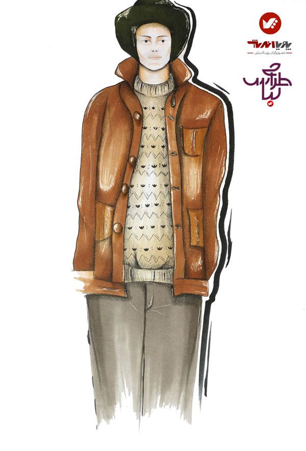 tarahilebas mardane pic amoozesh honarju 6 - آموزش طراحی لباس مردانه