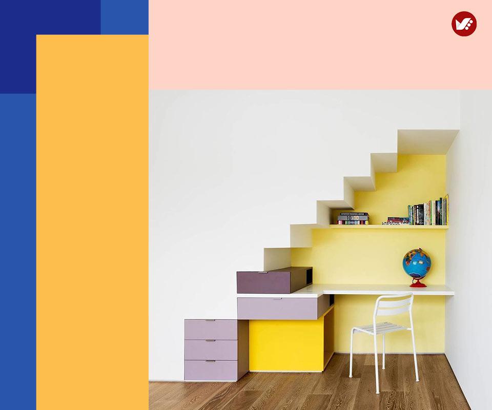 under stair design 2 - طراحی زیرپله