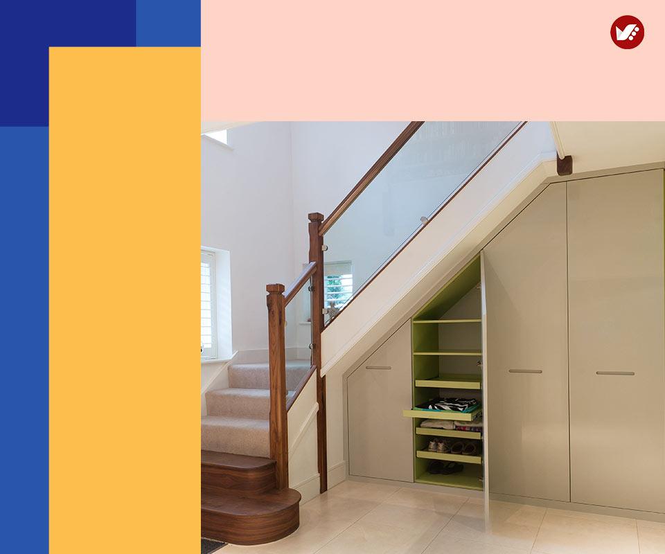 under stair design 4 - طراحی زیرپله