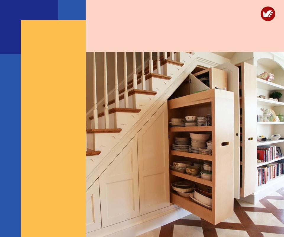 under stair design 5 - طراحی زیرپله