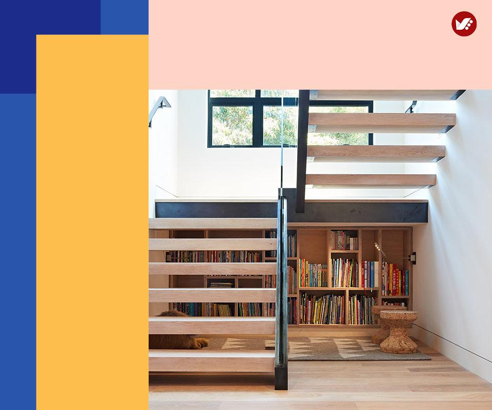 under stair design 9 - طراحی زیرپله