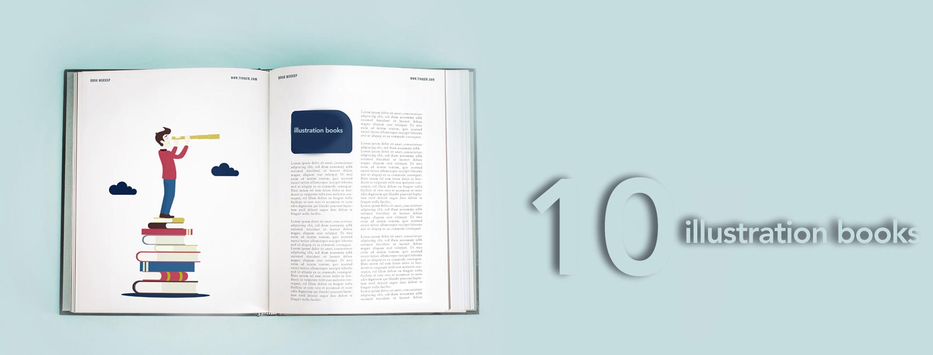 10 illustration books 01 - کتاب آموزش تصویرسازی