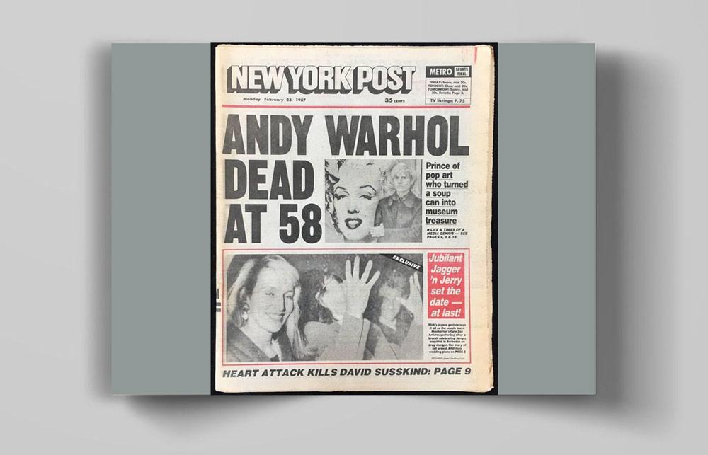Andy Warhol 00 - اندی وارهول Andy Warhol